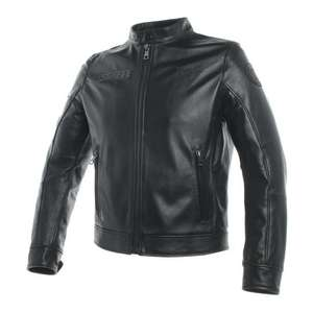 Blouson de moto en cuir Dainese Legacy - Noir, Taille L
