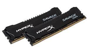 Kit mémoire DDR4 Kingston HyperX Savage 16 Go (2x8 Go) - 2800 MHz, CL14