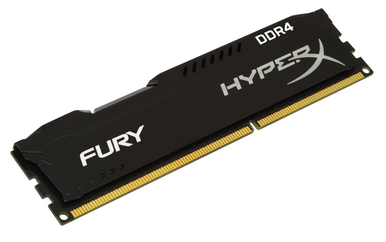 Kit mémoire DDR4 HyperX Fury Black Series 16 Go (2x8 Go) - 2133 MHz,  CL14