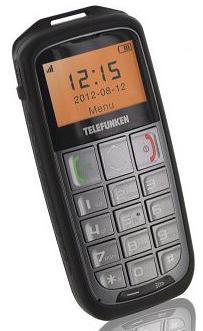 Téléphone portable Telefunken TM600 Crusoé - Argent