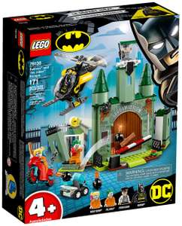 Jouet Lego DC Comics Super Heroes 4+ - Batman et l'évasion du Joker (76138)