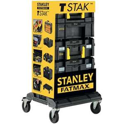 Set de 4 boîtes à outils Stanley Fatmax T-Stak (Frontaliers Belgique - Brico.be)