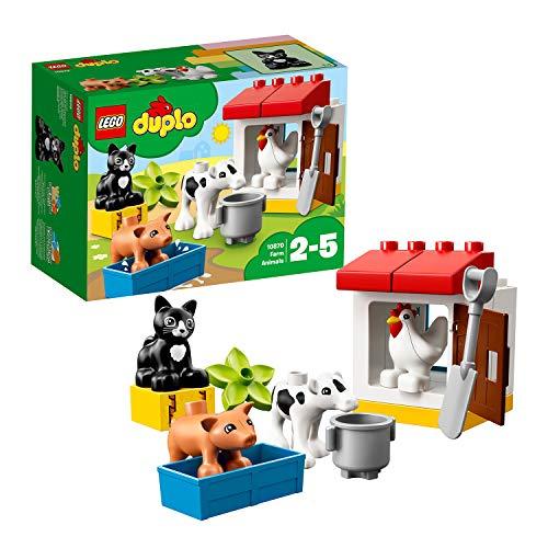 Jeu de construction Lego Duplo - Les animaux de la ferme (10870)