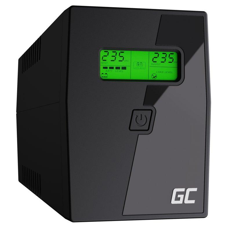 Onduleur Green Call UPS/USV 600VA 360W (batteryempire.fr)