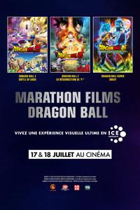 Marathon Dragon Ball: Battle of Gods + La résurrection de F + Dragon Ball Super Broly en salle premium ICE le 17 ou 18 Juillet