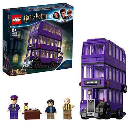 Jeu de construction Lego - Le Magicobus Harry Potter Bus Violet à 3 Niveaux (75957)