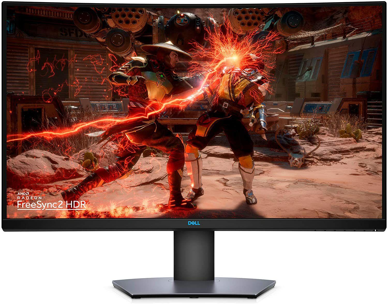 """Écran PC 31.5"""" Dell S3220DGF - WQHD, HDR, Dalle VA, 165 Hz, 4 ms, FreeSync Premium Pro, Incurvé"""