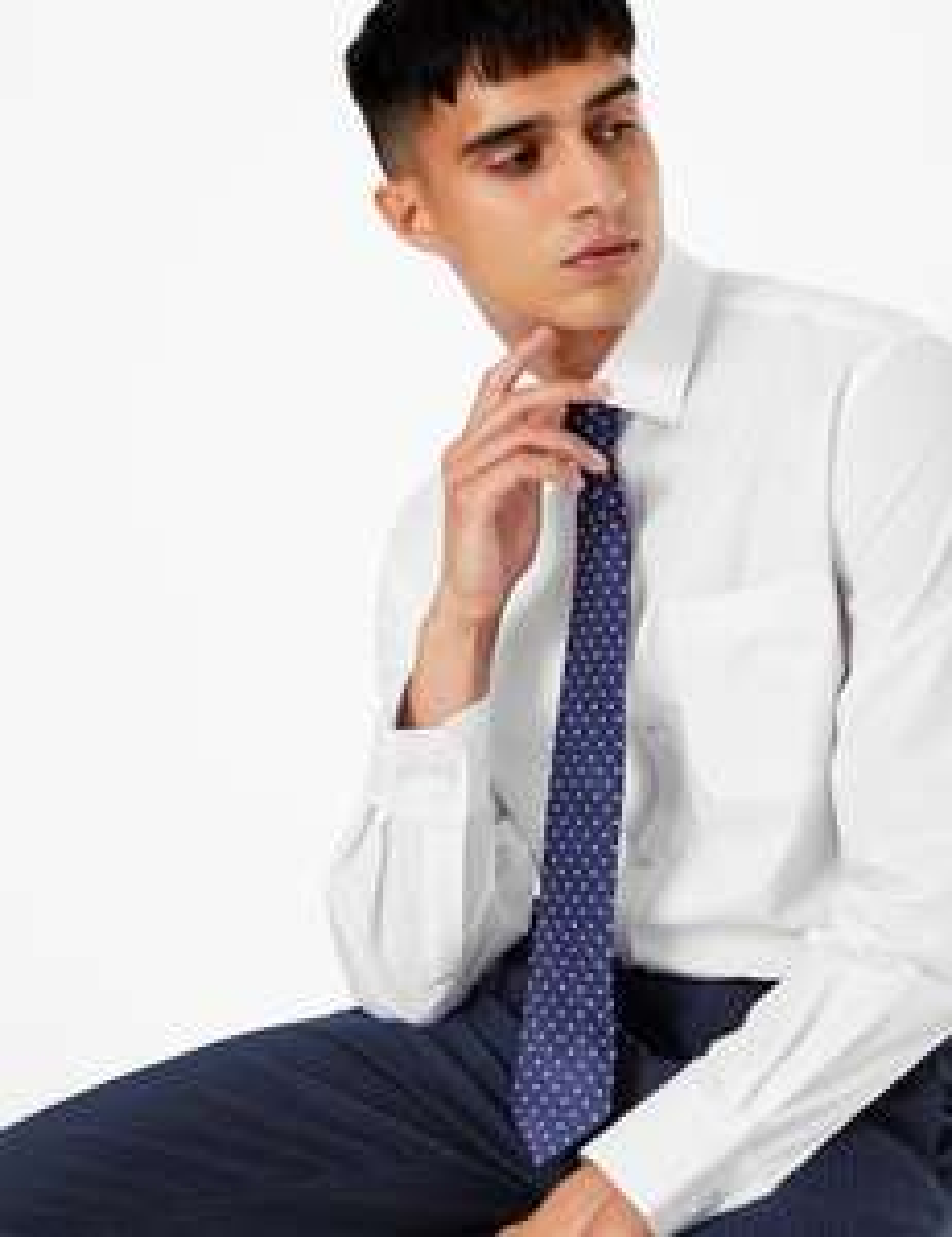 10 chemises ajustées à manches longues Marks & Spencer - Taille au choix