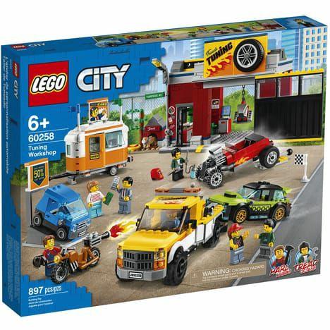 Jouet Lego City (60258) - L'Atelier de Tuning