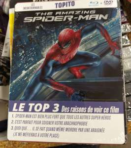 Coffret Blu-Ray + Steelbook The Amazing Spider-Man - Saint-Claude (39)