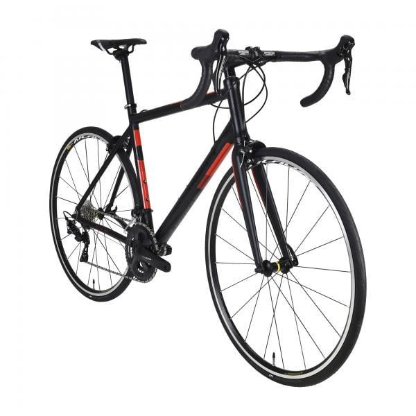 Vélo de course Serious Valparola 2020 - Noir/Rouge, Tailles au choix