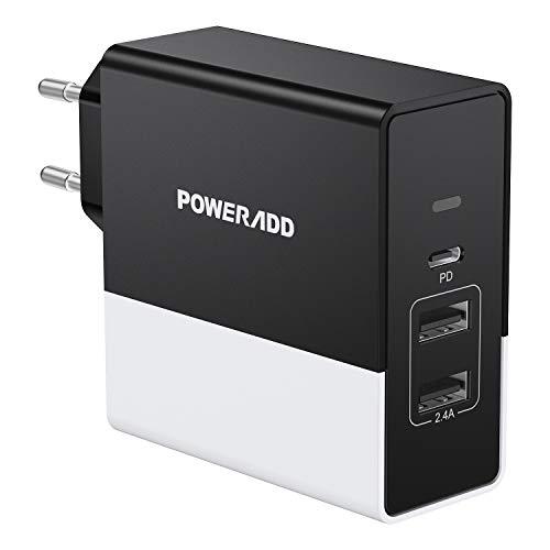 Chargeur Secteur USB-C Poweradd avec Power Delivery 3.0 (Vendeur Tiers)