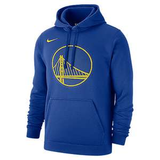 Sweat-shirt à capuche Nike Golden State Warriors - bleu (du S au XL)