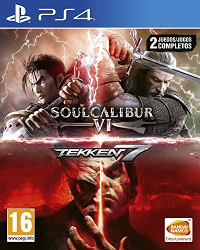 Pack SoulCalibur VI + Tekken 7 sur PS4