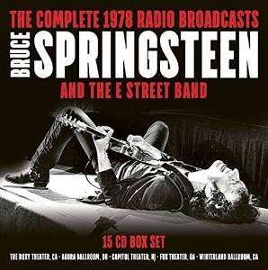 Coffret 15 CD : Bruce Springsteen Complete 1978 Radio Broad