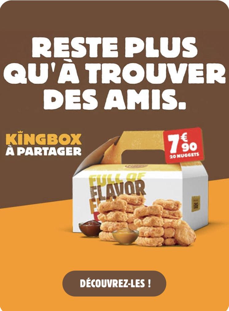 Kingbox de 20 Nuggets