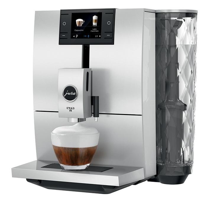 Machine à café automatique Jura Ena-8 Nordic White (Smart connect inclus)