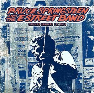 Album live de Bruce Springsteen du 19/01/2016 (34 chansons)