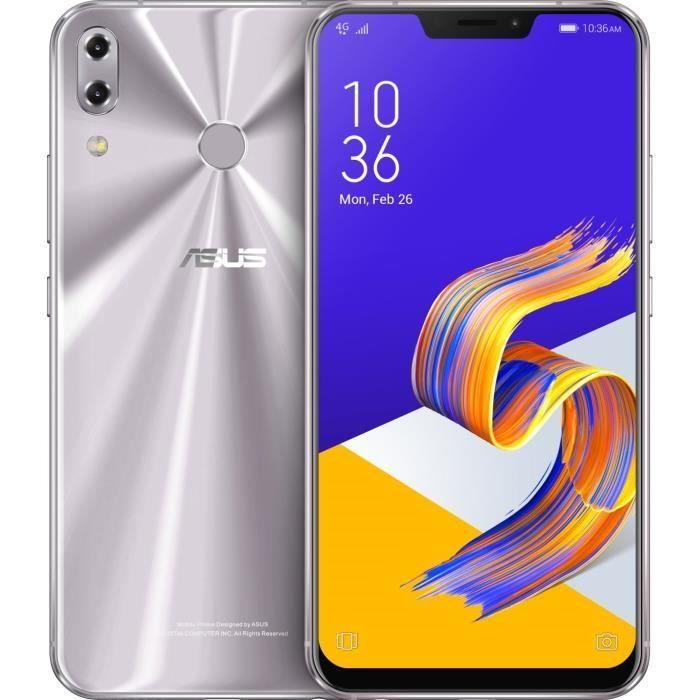 """Smartphone 6.2"""" Asus Zenfone 5 ZE620KL - SnapDragon 636, 4 Go de RAM, 64 Go (Global Version avec B20)"""