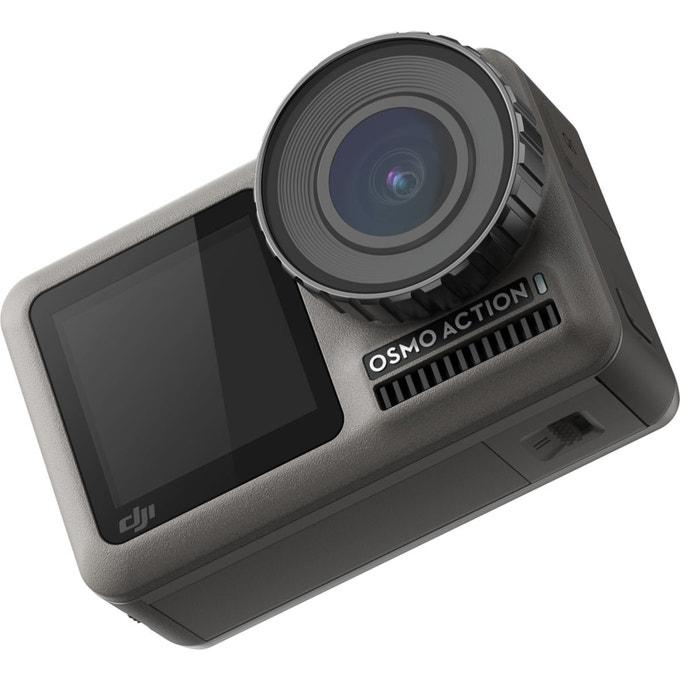 Caméra sportive DJI Osmo Action (4K UHD, HDR, 12 Mpix, Bluetooth) - vendeur Darty