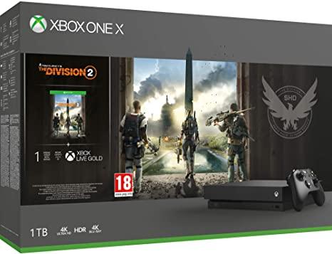 Sélection de consoles Xbox One en promotion - Ex : Xbox One X 1 To + Tom Clancy's The Division 2 (Calais - 62)
