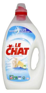 Lot de 2 Bidons de Lessive liquide Le Chat - 2 x 3L