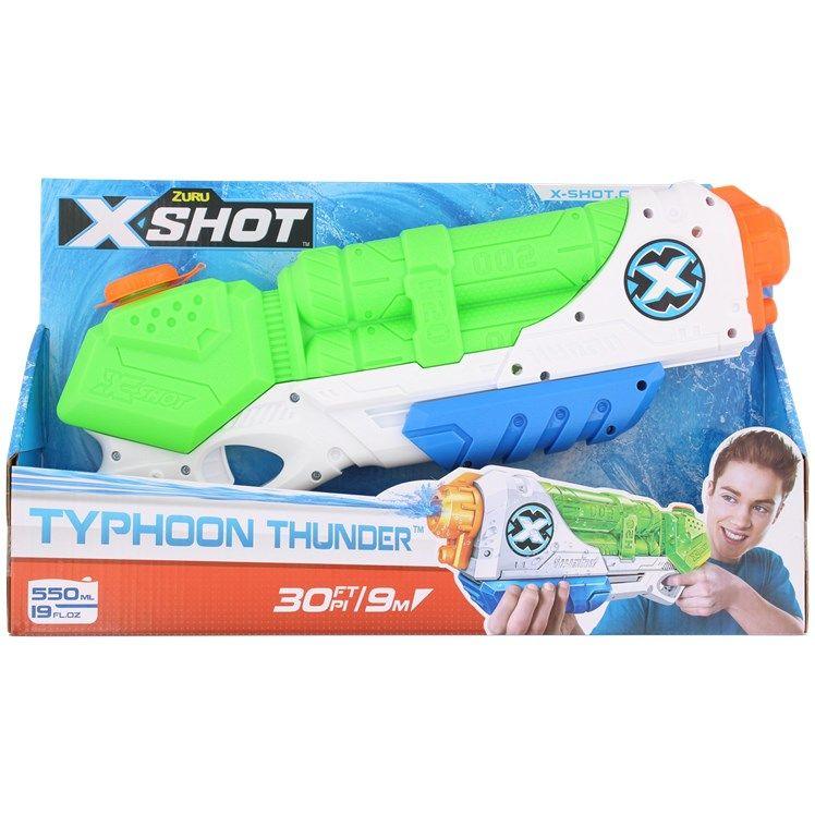 Pistolet à eau X-Shot Zuru Typhoon Thunder - 41 cm