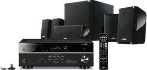 Pack Home Cinema 5.1 Yamaha YHT-4920 incluant un Ampli HTR-4068 - 4K, HDCP 2.2, YPAO, Airplay/MHL