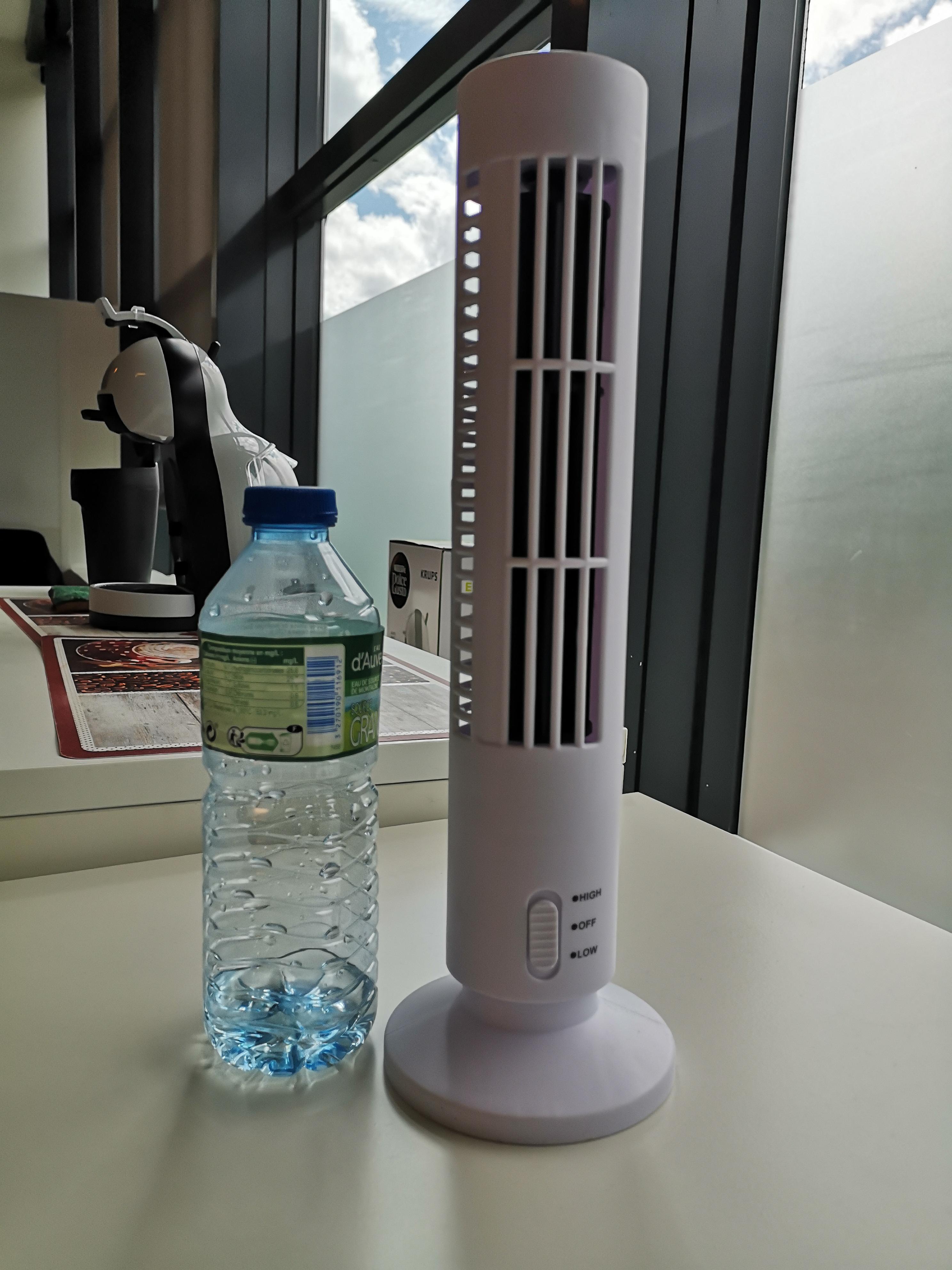 Ventilateur colonne - 33 cm, 2 vitesses - Quais d'Ivry (94)