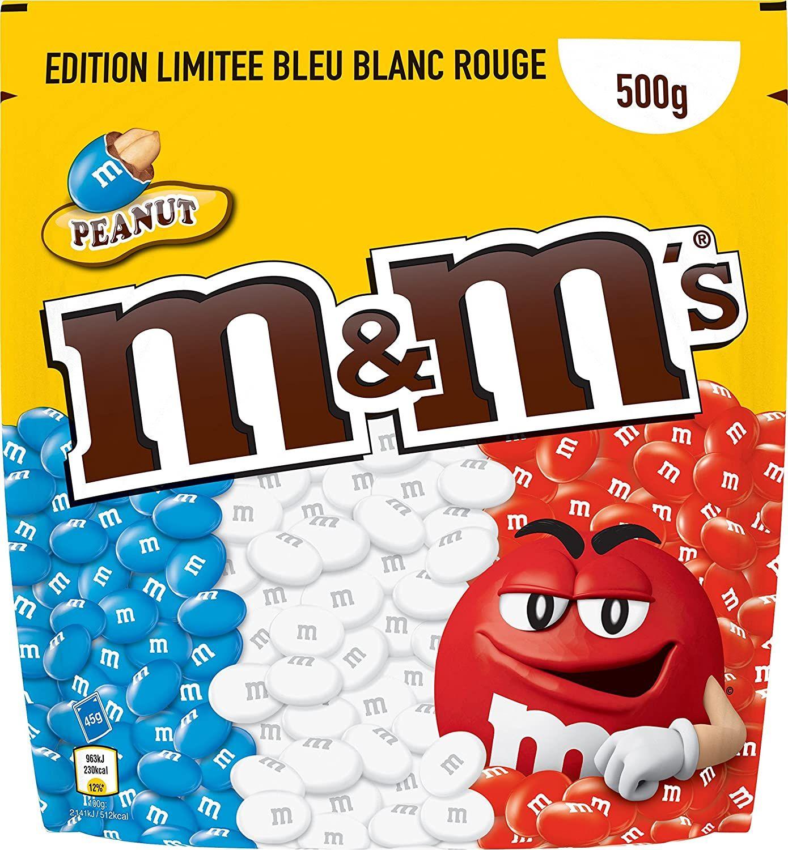 Lot de deux paquets de M&M's edition limitée - 2 x 500 g - Mulhouse (68)