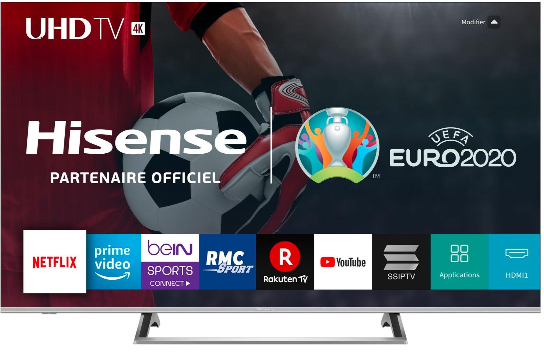 "TV 65"" Hisense 65B7500 - 4K UHD, HDR, WiFi (Boulanger)"
