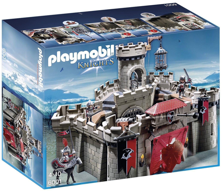 Jeu De Construction Playmobil 6001 - Citadelle Des Chevaliers Aigle