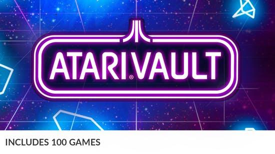 Pack Atari Vault - 100 Jeux sur PC (Dématérialisés - Steam)