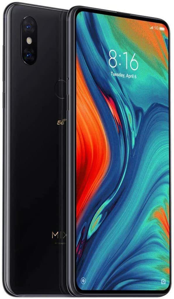 "Smartphone 6.39"" Xiaomi Mi Mix 3 (5G) - Full HD+, Snapdragon 855, RAM 6 Go, 128 Go, Noir"