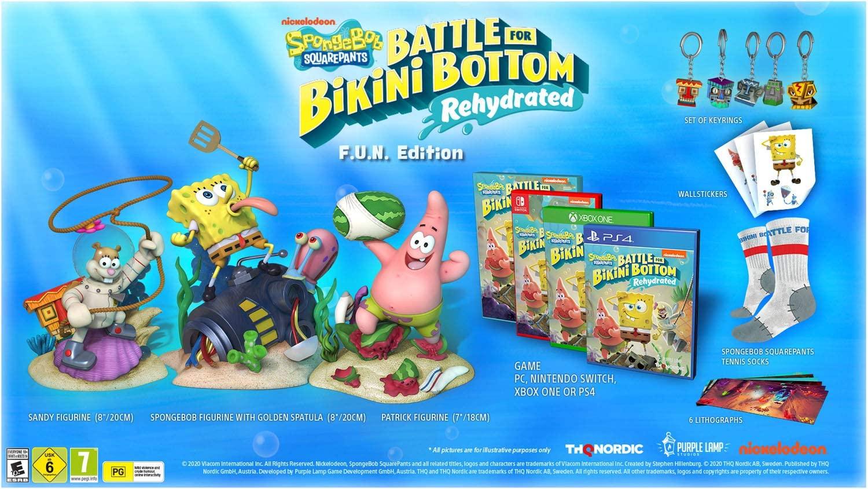 Spongebob Squarepants: Battle for Bikini Bottom Rehydrated (F.U.N. Edition Collector) sur PC