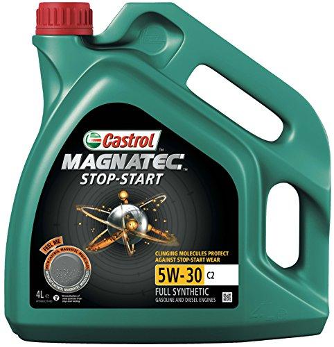 Bidon d'huile moteur Castrol Magnatec Stop-Start - 5W-30 C2, 4 L