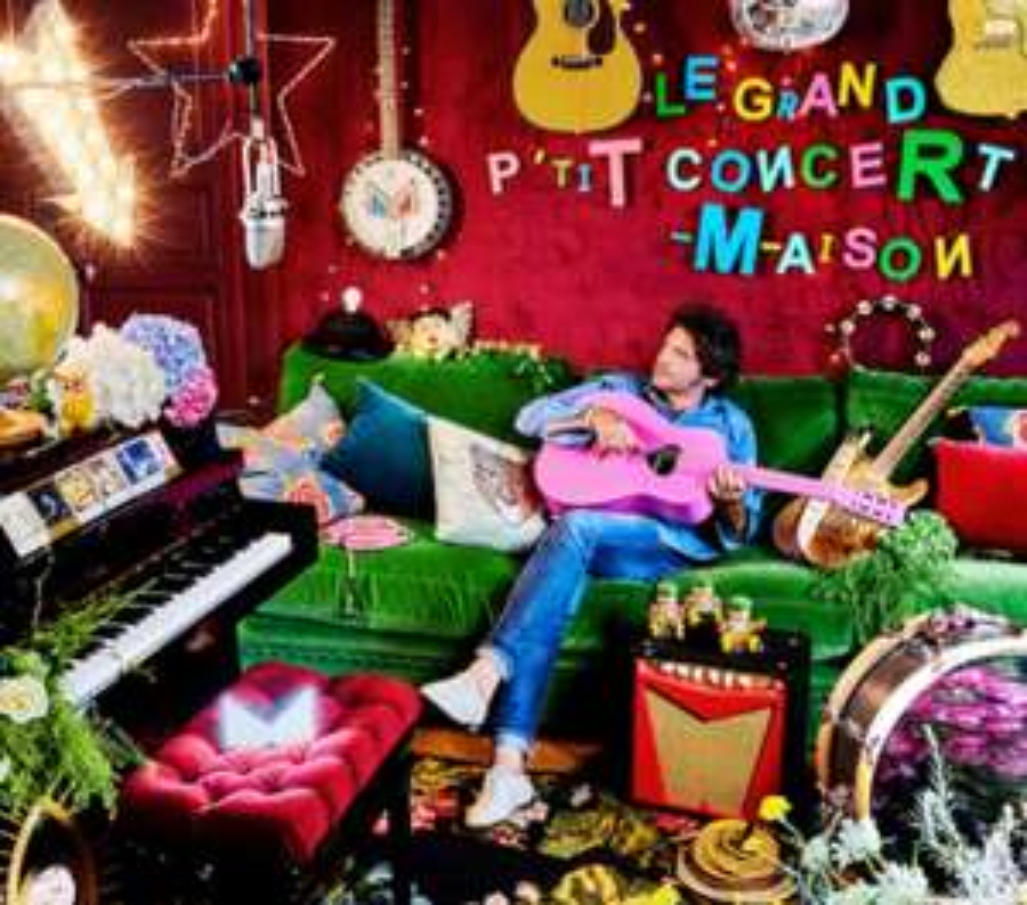Album Live de M - LE Grand P'tit Concert Maison offert (Dématérialisé)