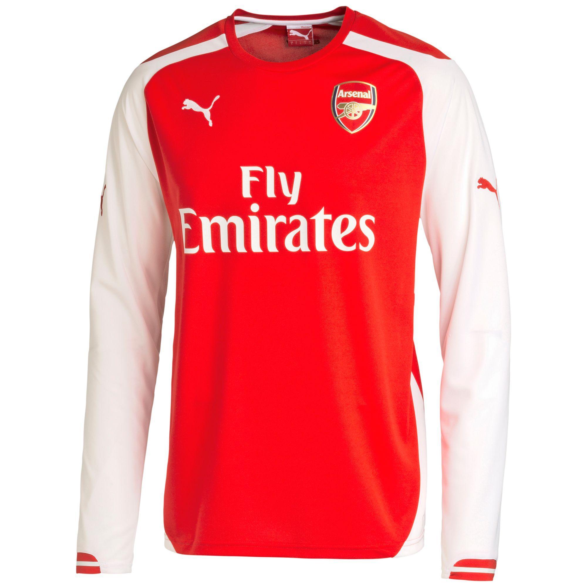 Maillot à manches longues domicile Replica Arsenal FC