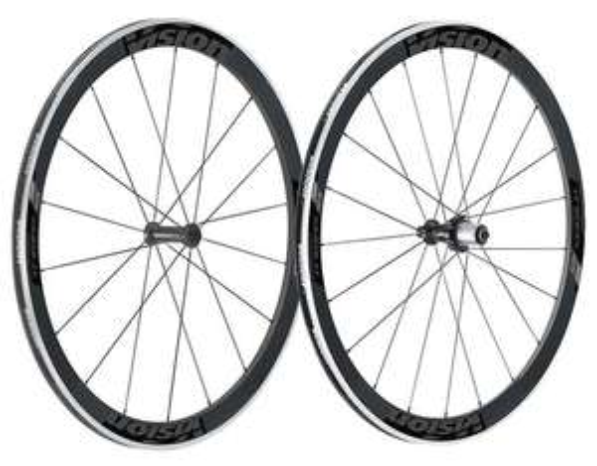 Roues Vélo Route Vision Trimax 45 Carbon Carbone