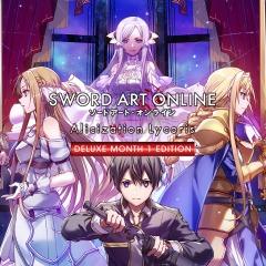 Sword Art Online Alicization Lycoris Deluxe Month 1 Edition sur PS4 (Dématérialisé)