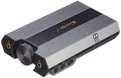 Carte Son / DAC externe USB Creative Sound BlasterX G6