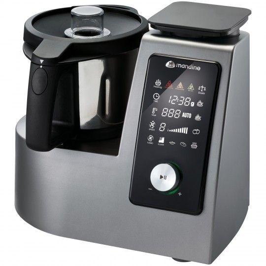 Autocuiseur intelligent Mandine MSC5200-18 - Inox / Noir
