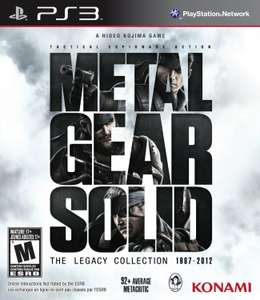 [Précommande] Metal Gear Solid - The Legacy Collection sur PS3