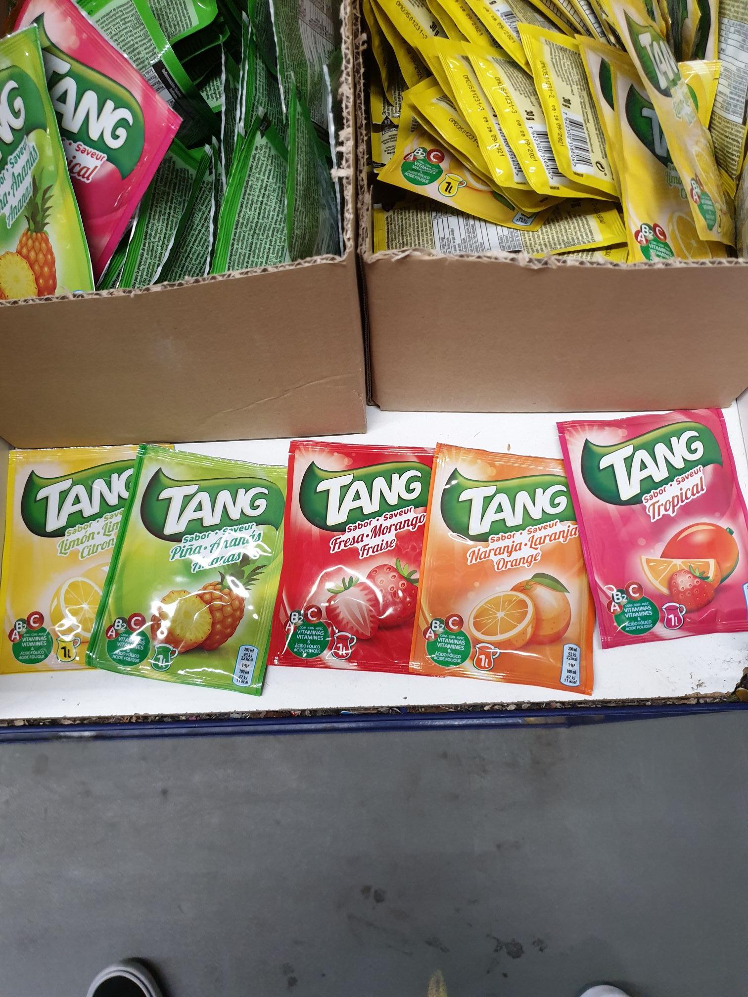 Boisson en poudre Tang - Plusieurs variétés (Châlons-en-Champagne 51)