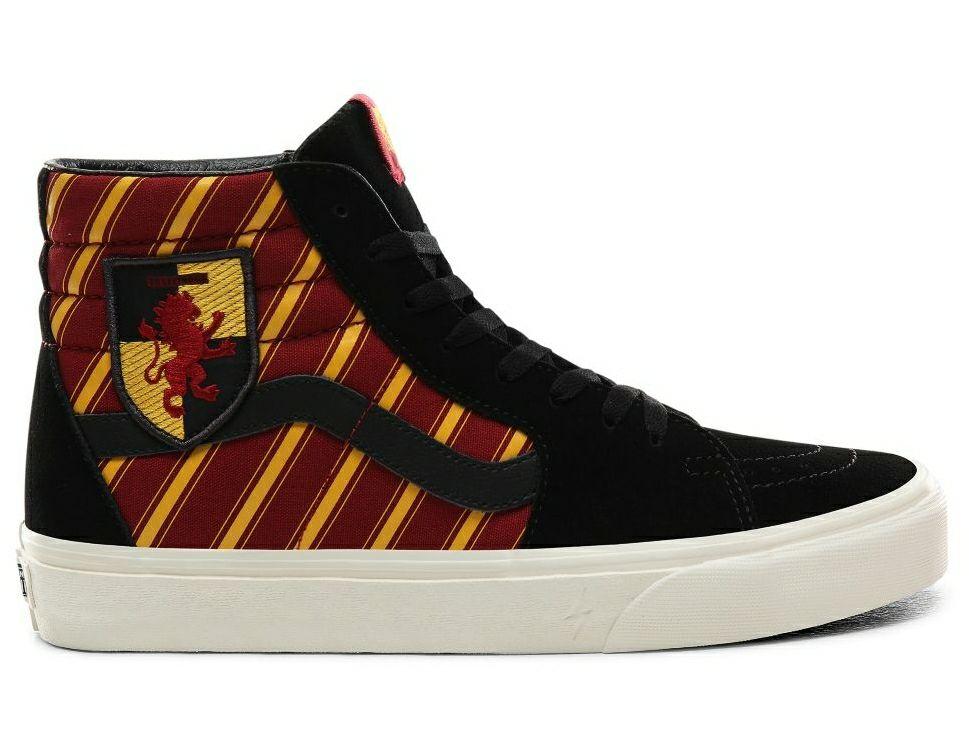 Chaussures Vans X Harry Potter Gryffondor SK8-HI - Tailles 43, 44.5 et 46