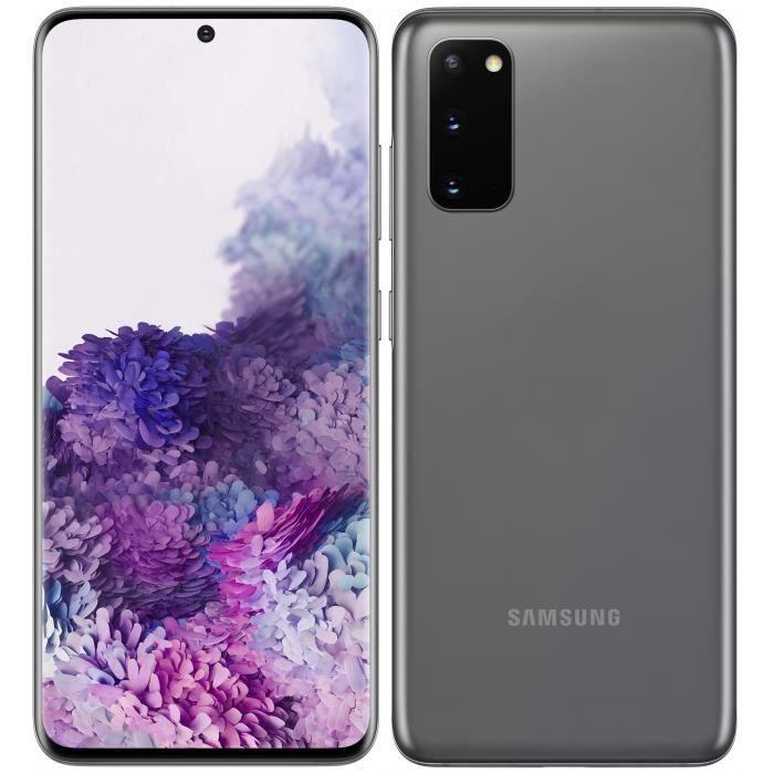 """Smartphone 6.2"""" Samsung Galaxy S20 - WQHD+, Exynos 990, 8 Go de RAM, 128 Go"""