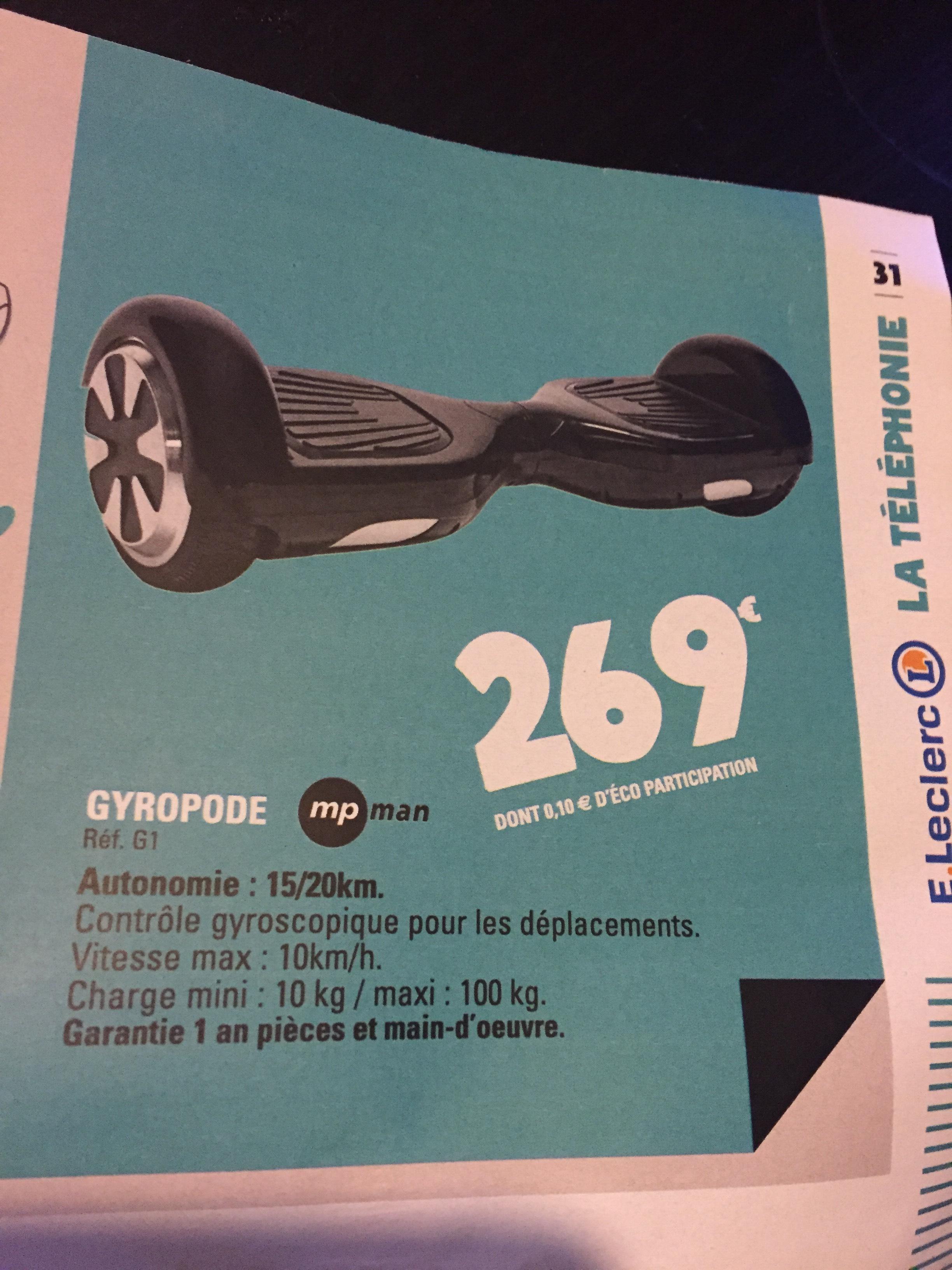 Gyropode Mpman