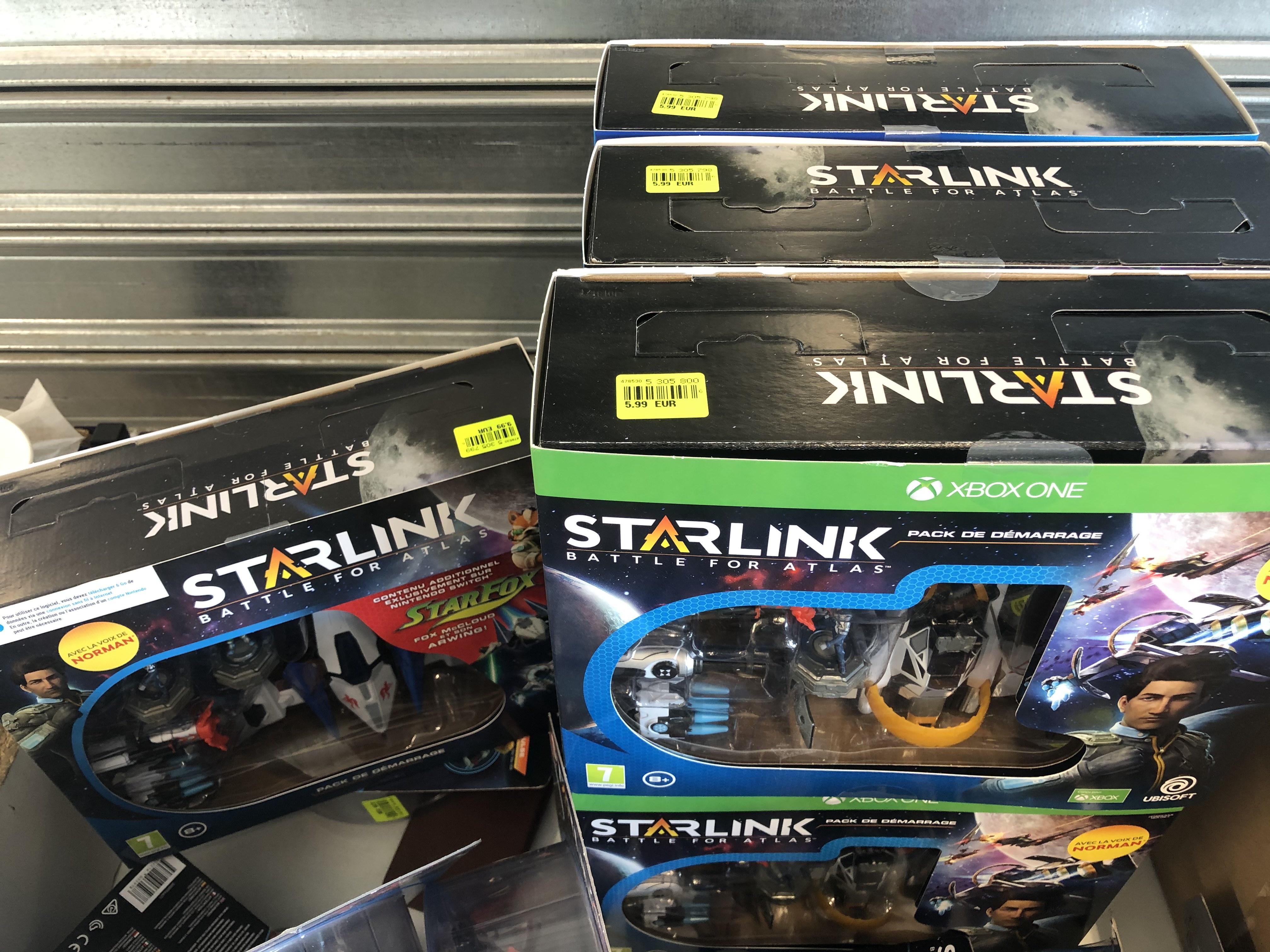 Pack de démarrage Starlink : Battle for Atlas sur PS4 ou Xbox One (L'Ain 01)