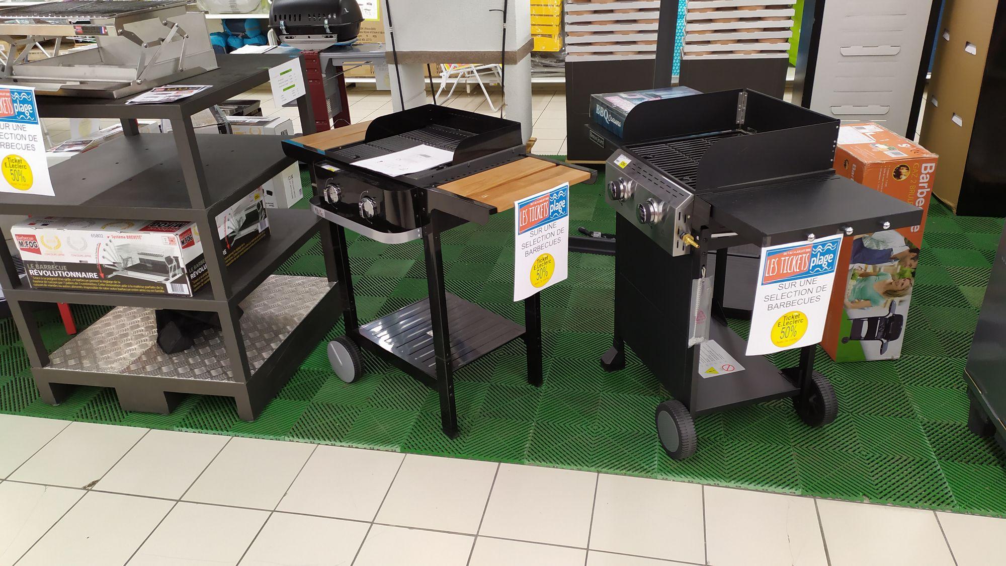 50% remboursés sur carte fidélité sur une sélection de barbecues - Rouffiac Tolosan (31)