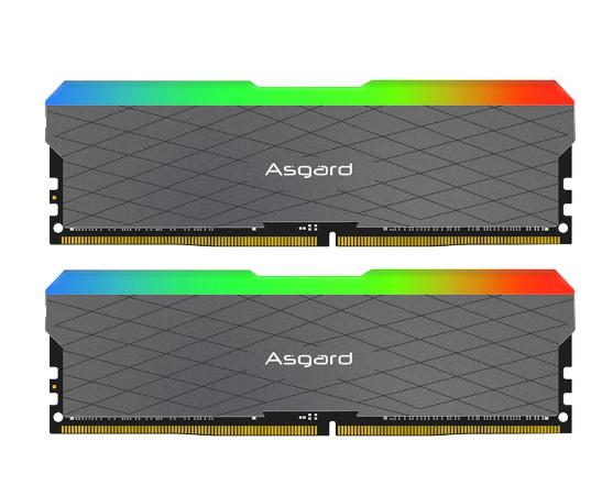 Kit Mémoire RAM Asgard Loki W2 RGB - 32Go (2 x 16Go), DDR4, 3200MHz, CL16,